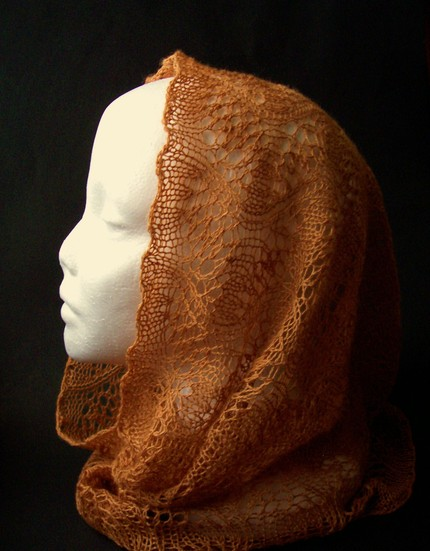 Curry Lace Weight Cowl - Ready to Ship